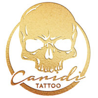 caridi tattoo gold